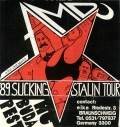 A.M.D. (anti military demonstration) - Sucking Stalin Tour - live