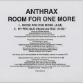 Anthrax - Room for One More