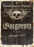 Blood Stains Europe Gorgoroth 25th Anniversary Tour Part II.