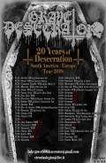 20 Years of Desecration Europe Tour 2018