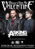 Bullet For My Valentine, Asking Alexandria, Blessthefall, Caliban