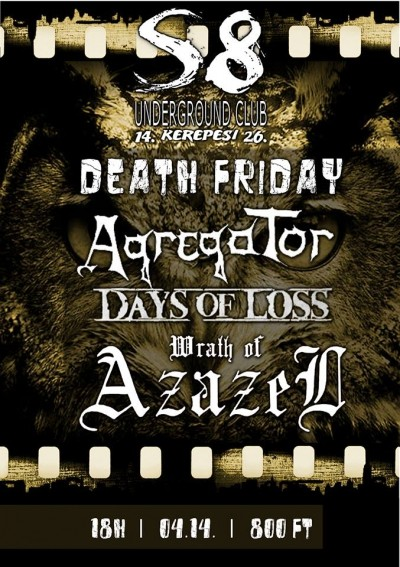 Days of Loss, Agregator, Wrath of Azazel