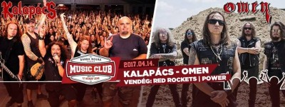 Kalapács, Omen, Power, Red Rockets