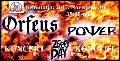 Orfeus, Power, Zero Day