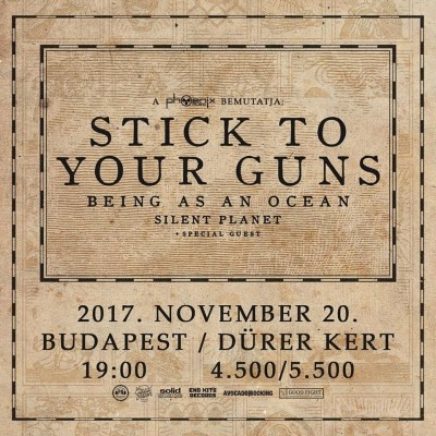 Stick To Your Guns, Being As An Ocean, Silent Planet