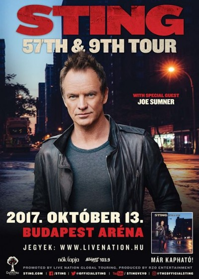 Sting - 57th & 9th Tour