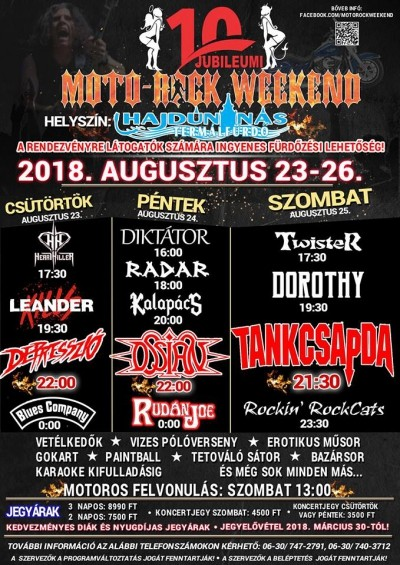 10. Jubileumi Moto-Rock Weekend