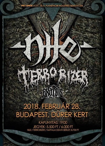 What Should Not Be Unearthed Prt III - Tour 2018