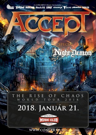 The Rise of Chaos World Tour 2018