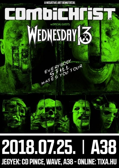 Combichrist, Wednesday 13, Night Club