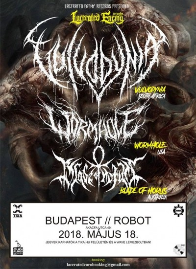 Vulvodynia, Wormhole, Blade of Horus