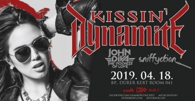 Kissin' Dynamite - Europe in Ecstasy Tour 2019