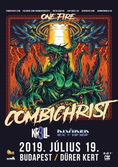 Combichrist - One Fire World Tour